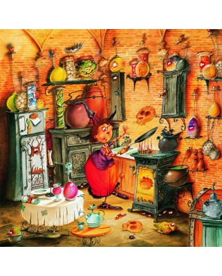 Puzzle Grafika - Francois Ruyer: The Witch, 1.500 piese (58486)