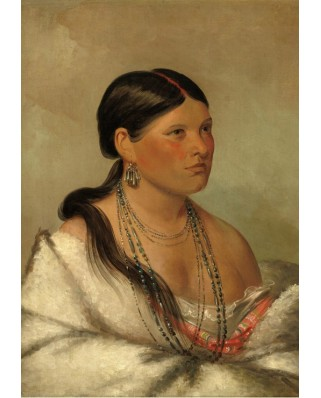 Puzzle Grafika - George Catlin: The Female Eagle - Shawano, 1830, 1.000 piese (58887)