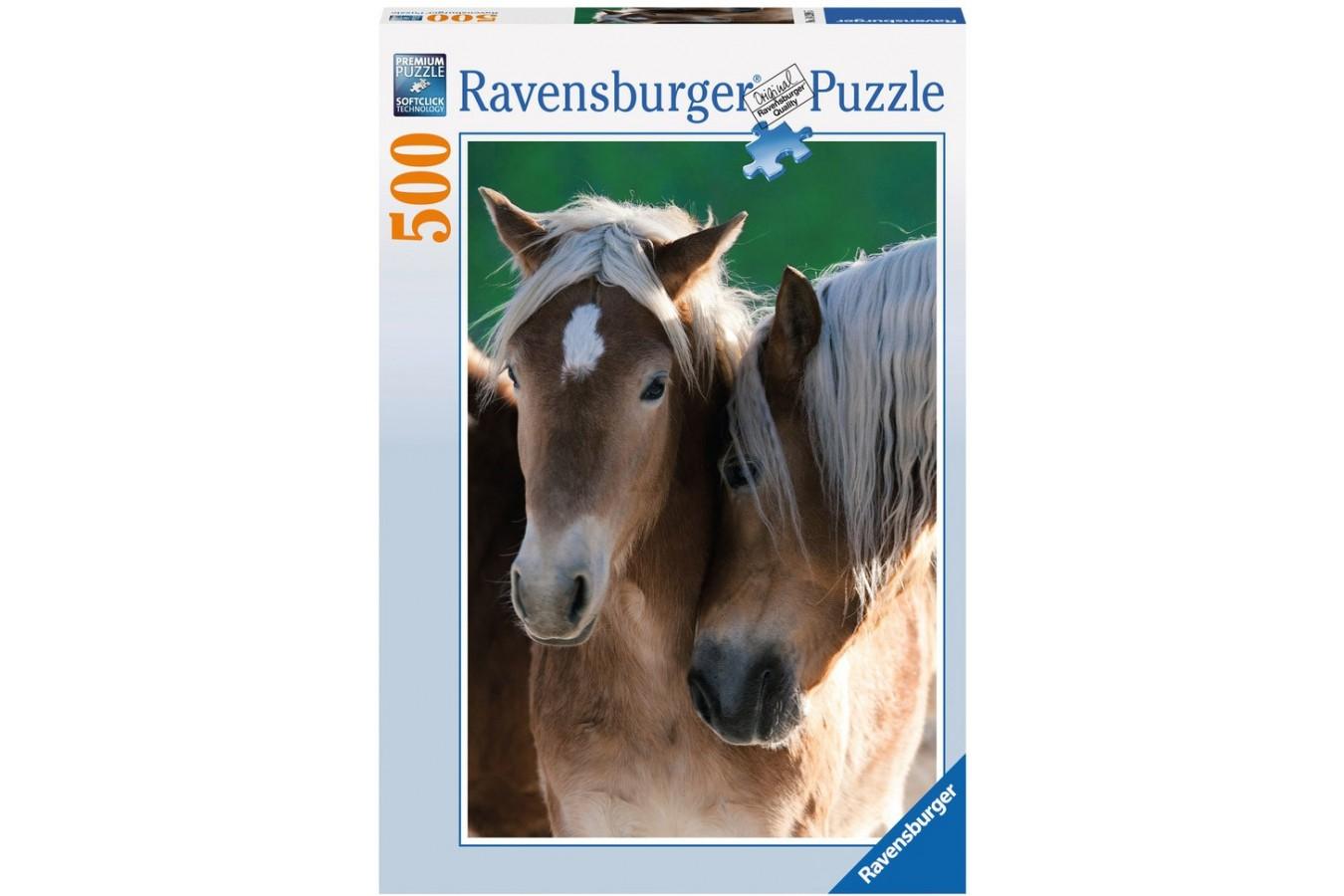 Puzzle Ravensburger - Portret Cai, 500 piese (14209)