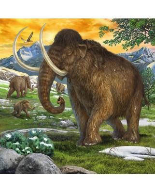 Puzzle Ravensburger - Dinozauri, 3x49 piese (09358)