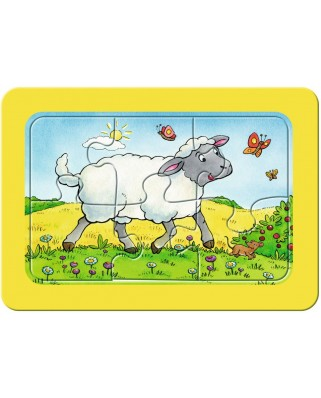 Puzzle Ravensburger - Animale, 3x6 piese (06134)