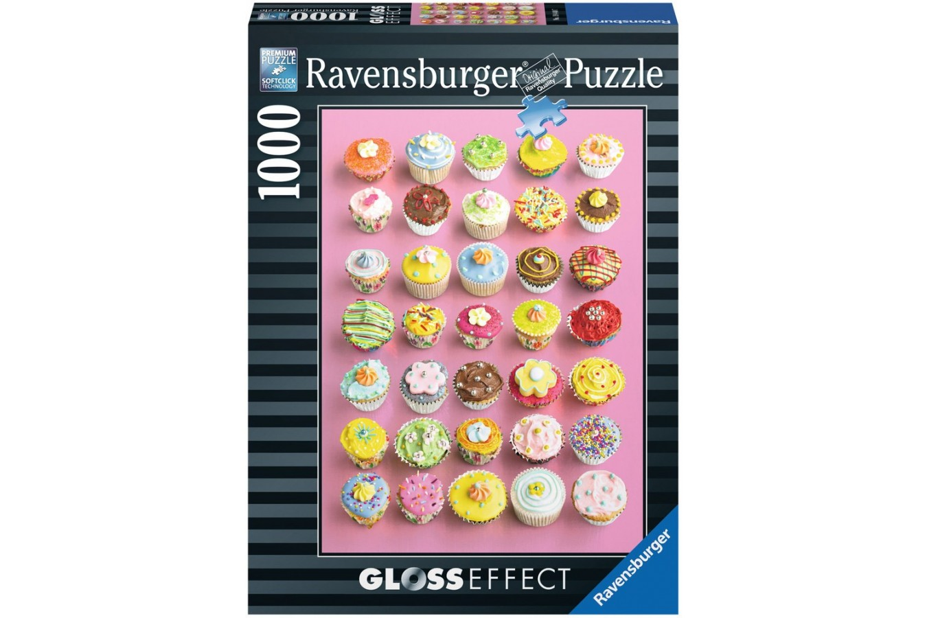 Puzzle Ravensburger - Howard Shooter: Prajiturele, 1.000 piese (19440)