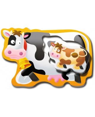 Puzzle Ravensburger - Mame Si Copilasi, 6x2 piese (06903)