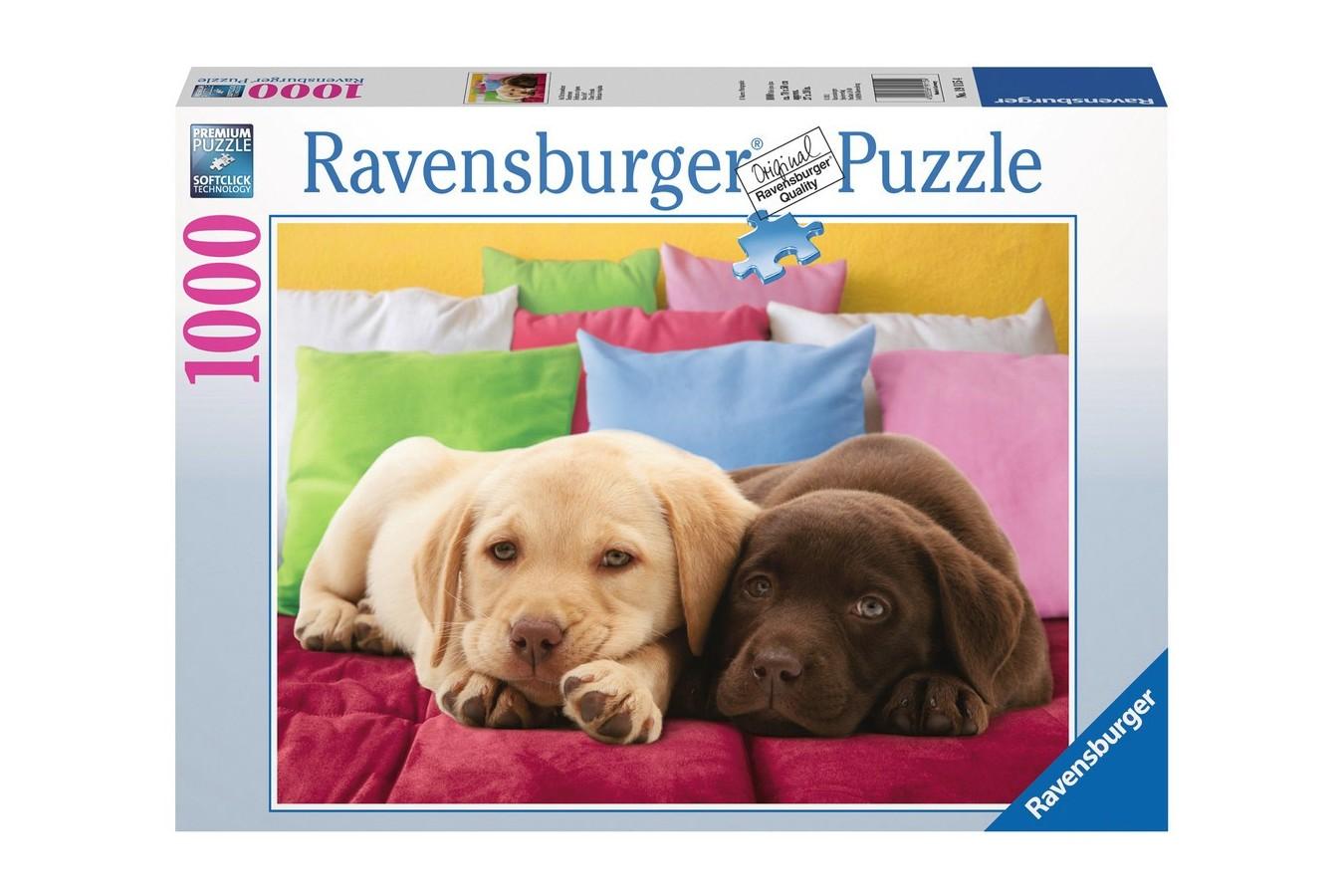 Puzzle Ravensburger - Prieteni Apropiati, 1000 piese (19115)