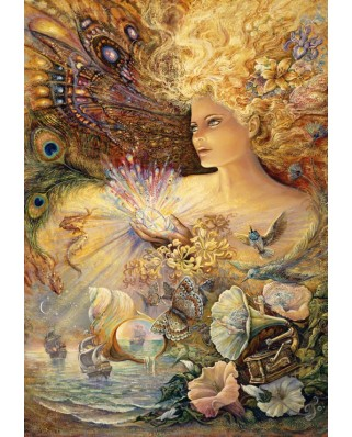 Puzzle Grafika - Josephine Wall: Crystal of Enchantment, 3.900 piese (50932)