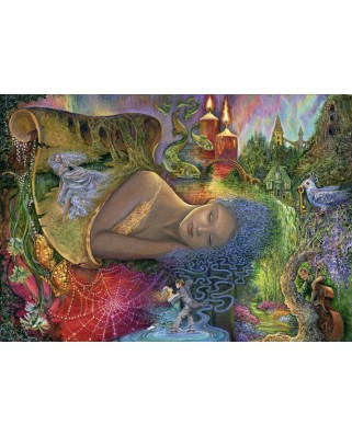 Puzzle Grafika - Josephine Wall: Dreaming in Color, 1.500 piese (58737)
