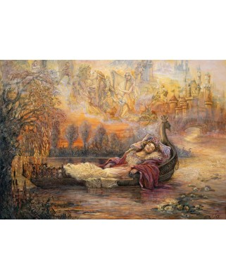 Puzzle Grafika - Josephine Wall: Dreams of Camelot, 2.000 piese (59057)