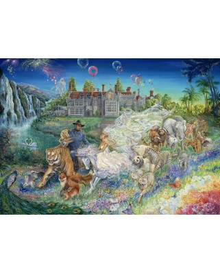 Puzzle Grafika - Josephine Wall: Fantasy Wedding, 1.000 piese (59062)