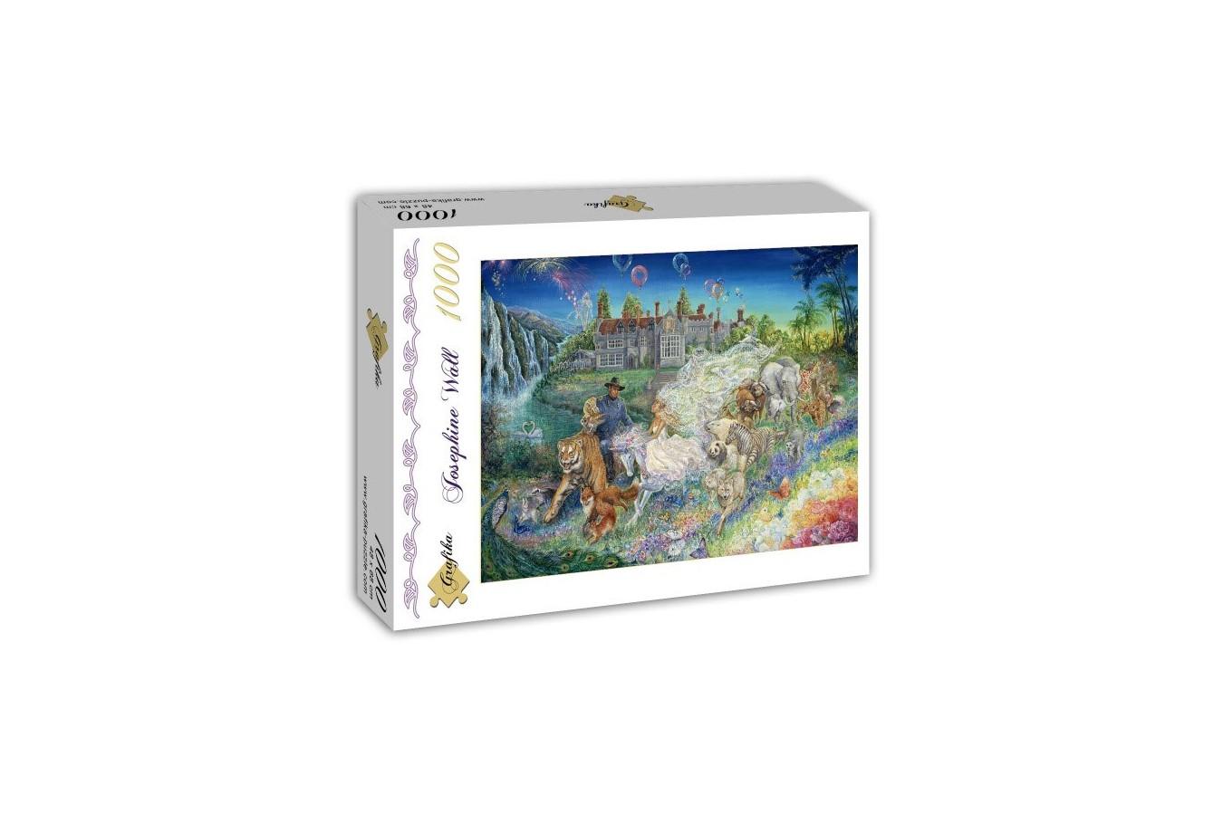 Puzzle Grafika - Josephine Wall: Fantasy Wedding, 1.000 piese (59062)