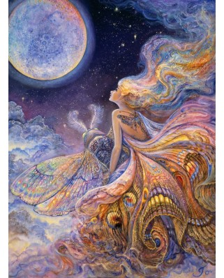 Puzzle Grafika - Josephine Wall: Fly Me to the Moon, 2000 piese (50904)