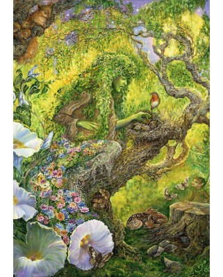 Puzzle Grafika - Josephine Wall: Forest Protector, 500 piese (61765)