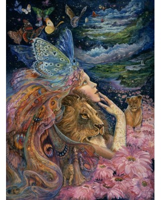 Puzzle Grafika - Josephine Wall: Heart and Soul, 2000 piese (50908)