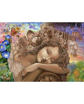 Puzzle Grafika - Josephine Wall: If Only, 1.000 piese (59091)