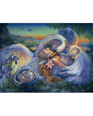 Puzzle Grafika - Josephine Wall: Leda and the Swan, 2.000 piese (50910)