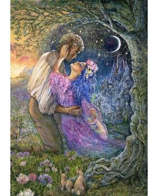Puzzle Grafika - Josephine Wall: Love Between Dimensions, 1.000 piese (61767)