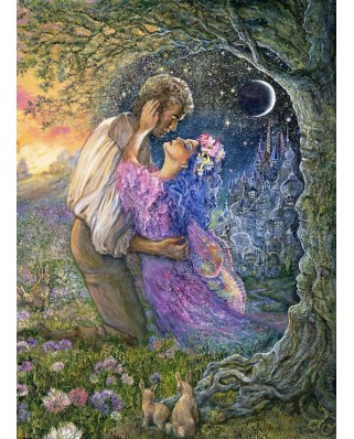 Puzzle Grafika - Josephine Wall: Love Between Dimensions, 300 piese (61768)