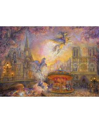 Puzzle Grafika - Josephine Wall: Magical Merry Go Round, 1.000 piese (59194)