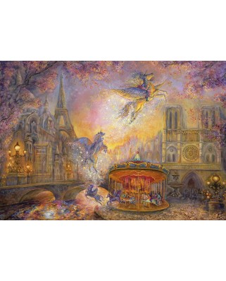 Puzzle Grafika - Josephine Wall: Magical Merry Go Round, 1.500 piese (59193)