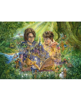 Puzzle Grafika - Josephine Wall: Magical Storybook, 2000 piese (59206)