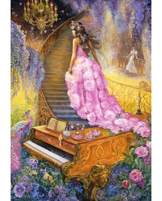 Puzzle Grafika - Josephine Wall: Melody in Pink, 1.000 piese (50913)