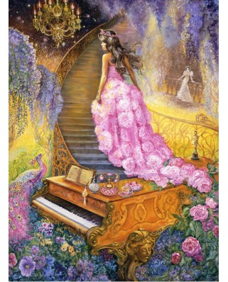 Puzzle Grafika - Josephine Wall: Melody in Pink, 2.000 piese (50912)