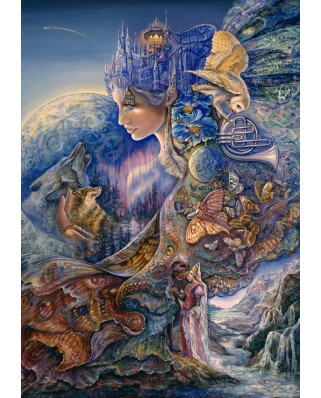 Puzzle Grafika - Josephine Wall: Once in a Blue Moon, 1000 piese (50921)