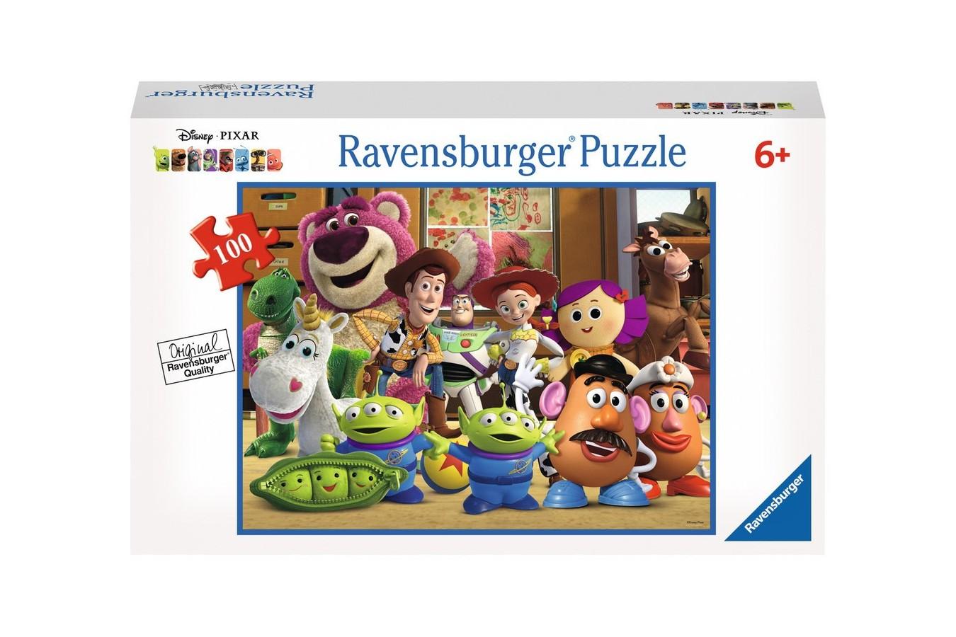 Puzzle Ravensburger - Prietenii Aliniati, 100 piese (10574)
