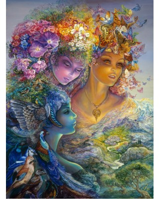Puzzle Grafika - Josephine Wall: The Three Graces, 2.000 piese (50924)