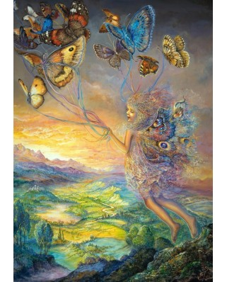 Puzzle Grafika - Josephine Wall: Up and Away, 2.000 piese (59445)