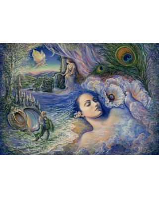 Puzzle Grafika - Josephine Wall: Whispered Dreams, 1.500 piese (59383)