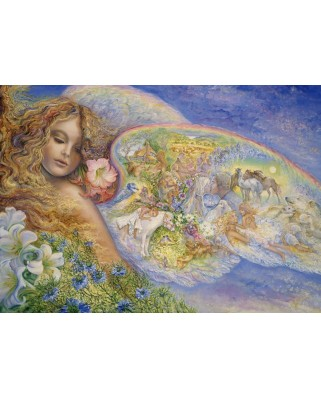 Puzzle Grafika - Josephine Wall: Wings of Love, 1.000 piese (59433)