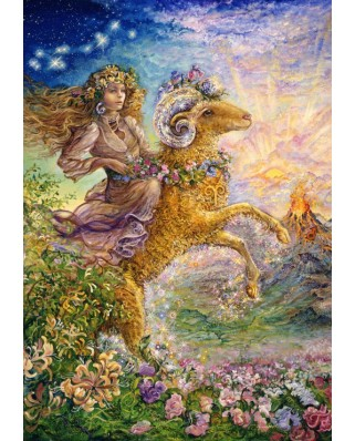 Puzzle Grafika - Josephine Wall: Zodiac Sign - Aries, 1.000 piese (50721)