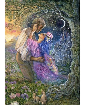 Puzzle Grafika - Josephine Wall: Love Between Dimensions, 1.000 piese (61776)