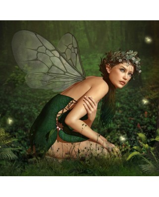 Puzzle Grafika - Nymph in the Forest, 1.500 piese (50274)
