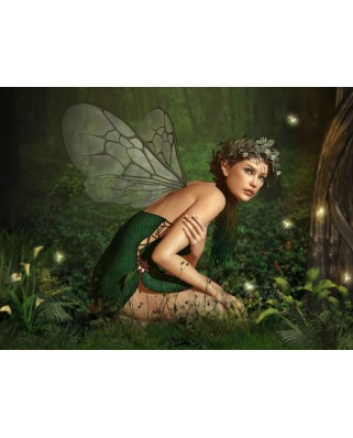 Puzzle Grafika - Nymph in the Forest, 2.000 piese (50273)