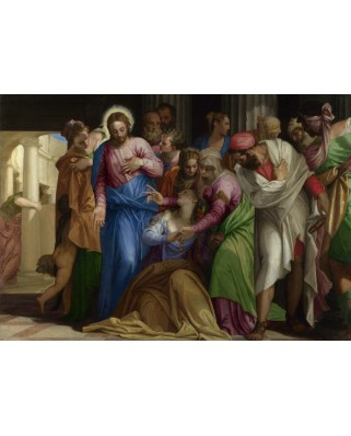 Puzzle Grafika - Paolo Veronese: The Conversion of Mary Magdalene, 1548, 1.000 piese (45992)