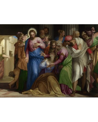 Puzzle Grafika - Paolo Veronese: The Conversion of Mary Magdalene, 1548, 2.000 piese (45993)