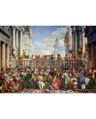 Puzzle Grafika - Paolo Veronese: The Wedding at Cana, 1563, 1.000 piese (45988)