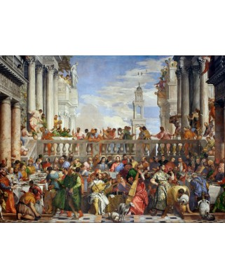 Puzzle Grafika - Paolo Veronese: The Wedding at Cana, 1563, 2.000 piese (45989)