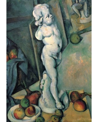 Puzzle Grafika - Paul Cezanne: Still Life with Plaster Cupid, 1895, 1.000 piese (53677)