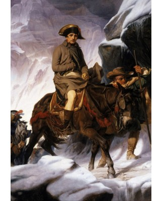 Puzzle Grafika - Paul Delaroche: Bonaparte Crossing the Alps, 1850, 1.000 piese (49452)