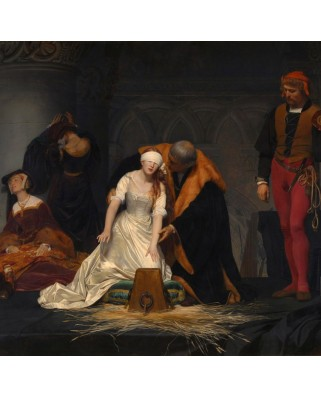 Puzzle Grafika - Paul Delaroche: The Execution of Lady Jane Grey, 1833, 1500 piese (49453)