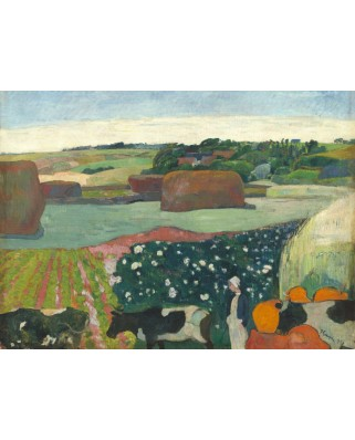 Puzzle Grafika - Paul Gauguin: Haystacks in Brittany, 1890, 300 piese (56331)