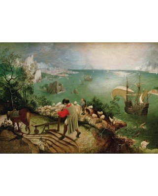 Puzzle Grafika - Pieter Bruegel: Landscape with the Fall of Icarus, 1558, 1.000 piese (49201)