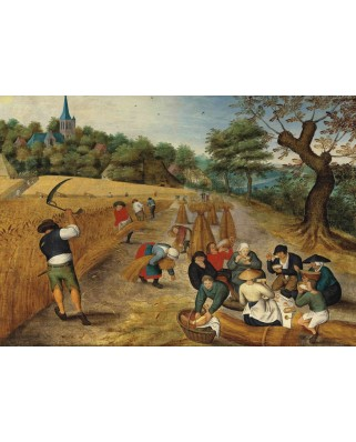 Puzzle Grafika - Pieter Bruegel: Summer: The Harvesters, 1623, 1.000 piese (49182)