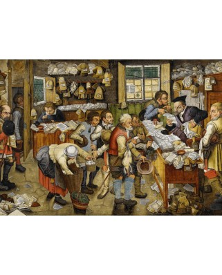 Puzzle Grafika - Pieter Bruegel: The Payment of the Tithes, 1617-1622, 1000 piese (49180)