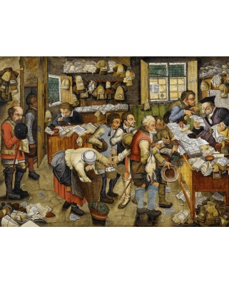 Puzzle Grafika - Pieter Bruegel: The Payment of the Tithes, 1617-1622, 2000 piese (49181)