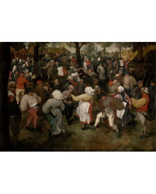 Puzzle Grafika - Pieter Bruegel: The Wedding Dance, 1566, 1.000 piese (49199)