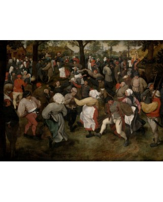 Puzzle Grafika - Pieter Bruegel: The Wedding Dance, 1566, 2.000 piese (49198)