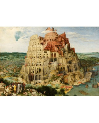 Puzzle Grafika - Pieter Bruegel: Tower of Babel, 1563, 1.000 piese (49187)